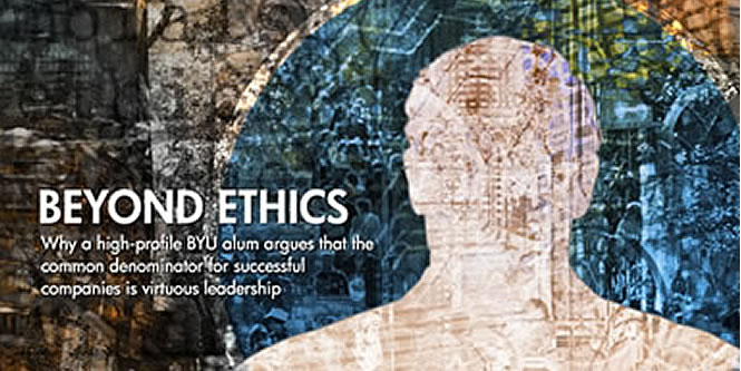 Beyond Ethics - Utah CEO cover
