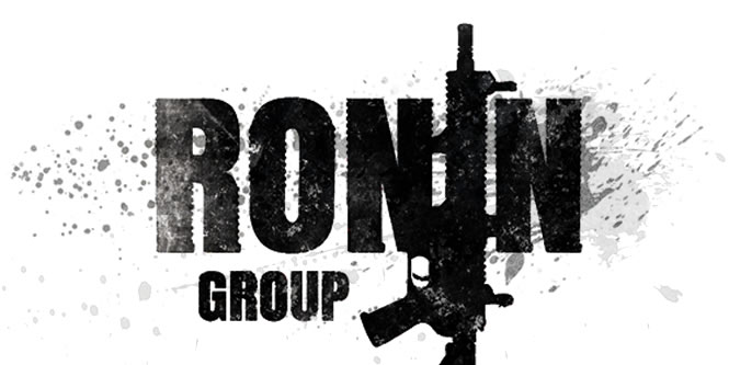 Ronin Group logo design