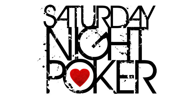 Saturday Night Poker design